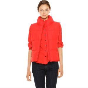 Joe Fresh Bright Orange Puffer Vest